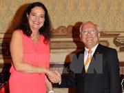 比利时继续增加对越南的援助项目数量