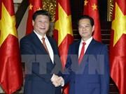 越南政府总理阮晋勇会见中共中央总书记、国家主席习近平