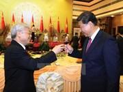 中共中央总书记、国家主席习近平:继续推动中越全面战略合作伙伴关系不断向前发展