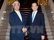越南政府总理阮晋勇会见外国客人