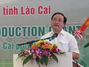 越南西北地区最大化肥厂在老街省落成