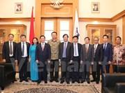 越印尼两国首都加强合作 实现共同繁荣发展