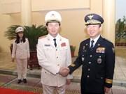 越南与韩国加强合作提高防范打击犯罪能力