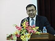 柬埔寨王国国庆62周年纪念典礼在河内市举行