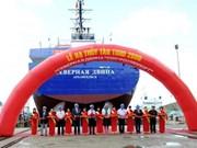 为俄罗斯建造的TSHD2000工程船成功下水