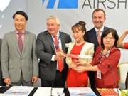 越捷航空公司订购30架空客A321客机