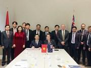 河内市与新西兰惠灵顿加强在各领域的合作