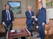 越南与埃及加强培育与政策研究的合作关系