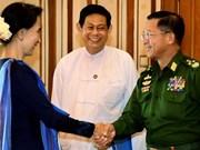 缅甸政府承诺确保大选后稳定和平