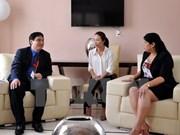 越南胡志明共青团代表团访问古巴