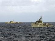 越柬两国海军加强联合巡逻活动