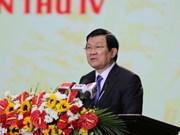 张晋创主席出席农业与农村发展部成立70周年纪念活动