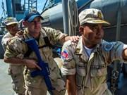 美国与柬埔寨举行联合海上军演