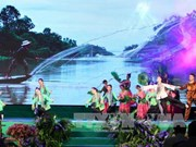 2015年河内九龙江三角洲文化旅游周昨晚正式开幕