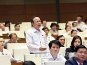 越南第十三届国会第十次会议:各位部长就许多热点问题回答国会代表质询