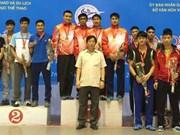 2015年越南国家击剑锦标赛:河内市击剑队居首位