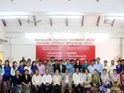越南协助老挝提高新闻工作者业务水平