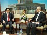 越南共产党代表团对中东进行工作访问