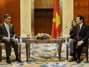 张晋创主席会见出席2015年菲律宾APEC峰会的秘鲁和马来西亚领导人