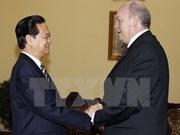 阮晋勇总理会见古巴外贸外资部长罗德里戈•马尔米耶卡•迪亚斯