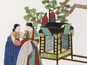 韩国刺绣作品展在河内开展