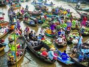 2015年初至今芹苴市接待游客量达140万人次