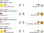 2015年世界武术锦标赛落幕:越南武术队获4银3铜