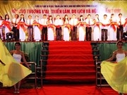 朔庄省贸易旅游展和京华高棉三族美食烹饪比赛拉开序幕