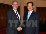 越南政府总理阮晋勇会见美国贸易代表弗罗曼