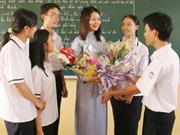 外国留学生与越南教师节