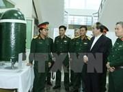 越南祖国阵线中央委员会主席阮善仁探访军事科学与技术研究院