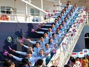2015年第42届东南亚与日本青年船圆满结束访越之旅