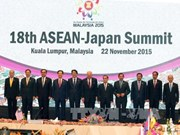 阮晋勇总理出席东盟与日本、东盟与韩国、东盟与联合国领导人峰会