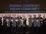 东盟领导人对东盟共同体建成表示欢迎
