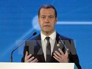俄罗斯总理梅德韦杰夫对柬埔寨进行访问