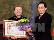 联合国教科文组织成立70周年纪念典礼在河内举行