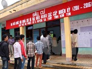 越南第十四届国会代表选举日期定为2016年5月22日