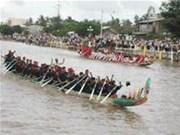 茶荣省举行庆祝拜月节的多项活动