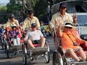 今年11月份越南接待外国游客量环比增长近13%