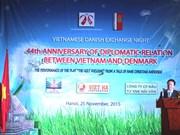 越南丹麦交流晚会在河内举行