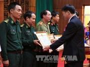 越南老挝加强边境界碑加密改造工作
