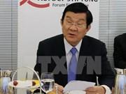 张晋创主席出席越德企业论坛