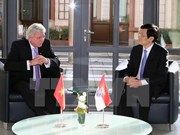 越南国家主席张晋创访问德国黑森州