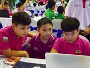 国际中小学生机器人大赛在胡志明市开赛