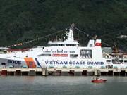 越南建造的8005号海警船成功下水