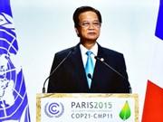 越南政府总理阮晋勇:发达国家应率先履行应对气候变化的承诺