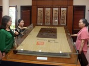 纪念阮攸大诗豪诞辰250周年:河静省举行文学遗产及《翘传》资料展