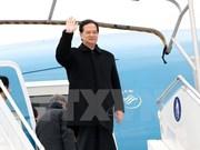 越南政府总理阮晋勇对比利时王国和欧盟进行工作访问