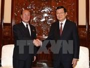 越南国家主席张晋创会见朝鲜最高检察所所长