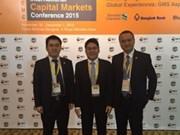 越南河内证券交易所代表出席国际资本市场会议